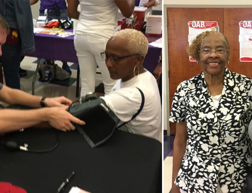 Saint Pauls Baptist Church Health Fair