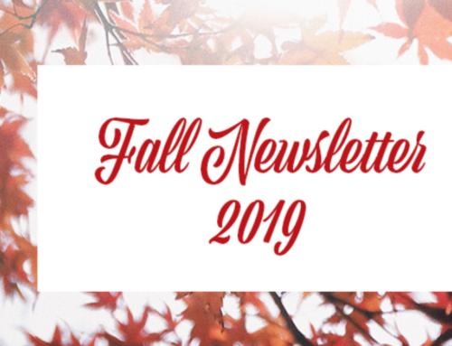 Fall 2019 Newsletter